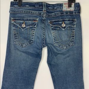 True Religion Jeans 30 x 33 twisted seams flare